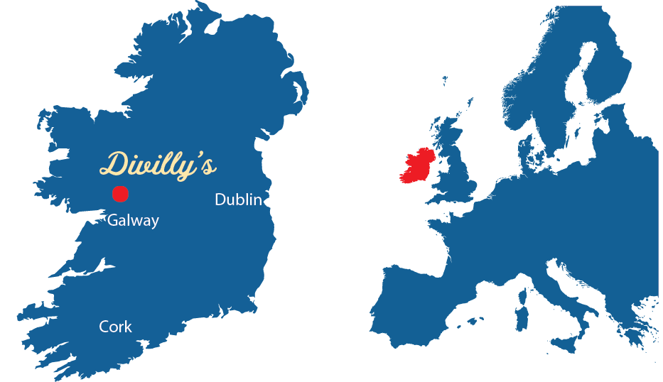 Divillys Map